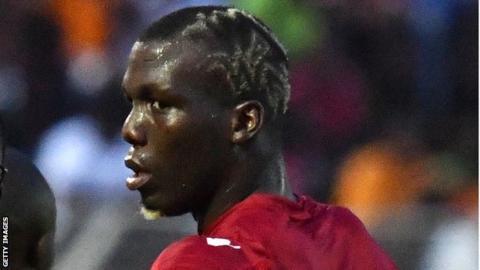 Guinea defender Florentin Pogba