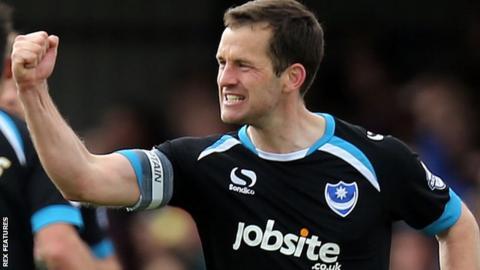 Portsmouth captain Michael Doyle