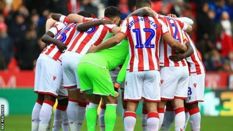 Saturday's victory at home to Fulham was the first time Stoke have won back-to-back league matches in over a year