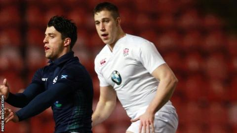 Warriors lock Huw Taylor was up against a Scotland Under-20s side containing Adam Hastings, son of the former Scotland captain Gavin