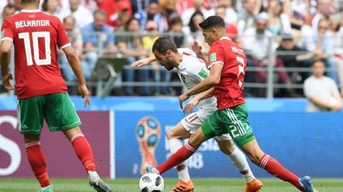 Portugal v Morocco