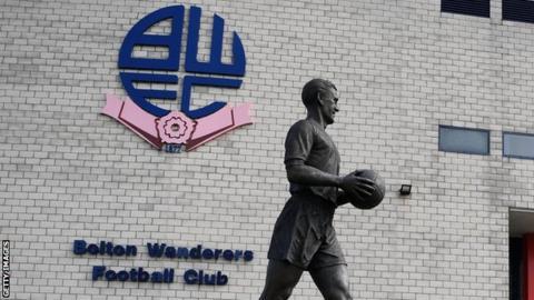 Bolton Wanderers stadium