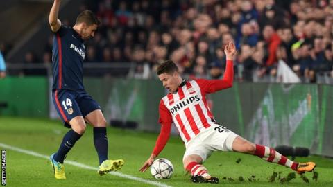 Marco van Ginkel scored eight goals in 16 outings for PSV while on loan last season