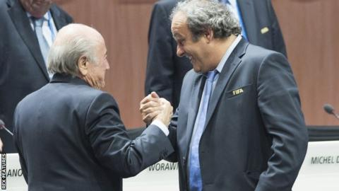 Blatter & Platini
