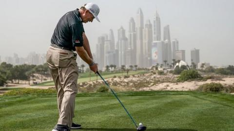 Els won his first European Tour title at Emirates Golf Club 25 years ago