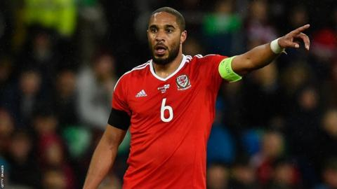 Ashley Williams will be the first Wales captain at a major tournament since Dave Bowen at the 1958 World Cup.