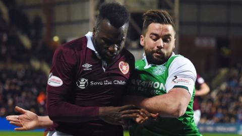 Esmael Goncalves and Darren McGregor