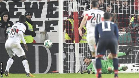 Ulreich's save extended Bayern's winning run to five games