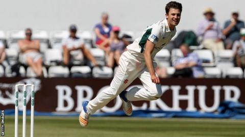Worcestershire fast bowler Ed Barnard has now taken 79 wickets in 30 first-class matches for the county
