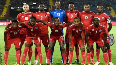 Namibia team