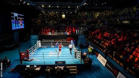 Olympic boxing qualifier