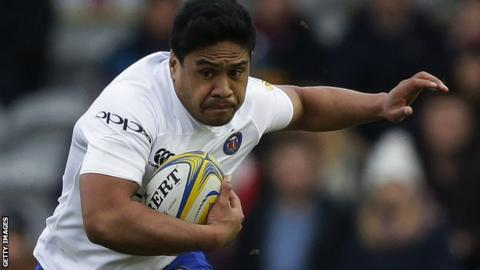 Ben Tapuai in action for Bath