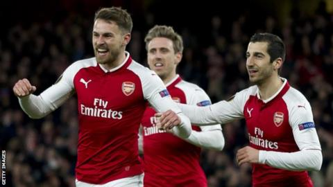 Juventus confirm interest in Arsenal midfielder Aaron Ramsey
