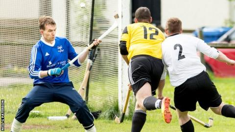 Fort William and Lovat shared four goals in their Camanachd Cup quarter-final