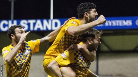 Morton bounced back after a 3-0 loss at Palmerston Park on Saturday