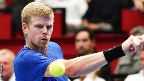 Kyle Edmund loses at Vienna Open