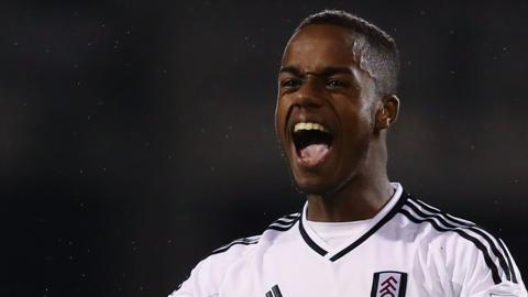 Fulham forward Ryan Sessegnon