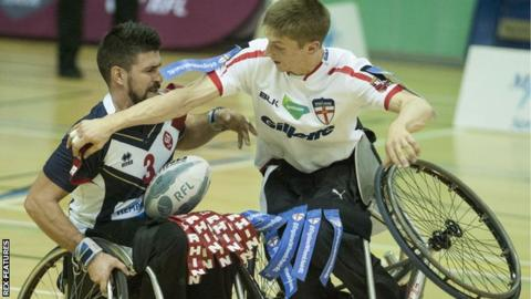 Wheelchair rugby league