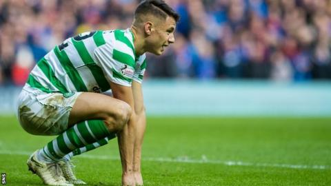Filip Benkovic has made 24 appearances for Celtic this season