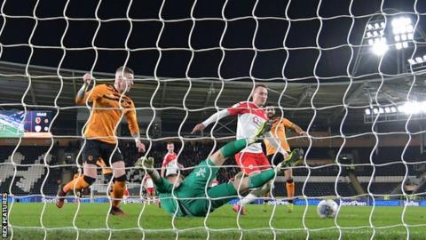 Cauley Woodrow's father, Martin Patching, played for Wolves and Watford
