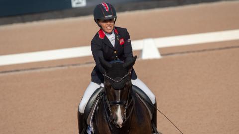 GB rider Sophie Wells