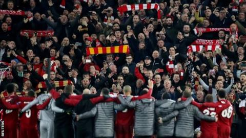 Liverpool 4-0 Barcelona: Anfield key to Champions League