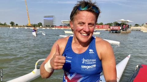 Para-canoe World Championships: Emma Wiggs secures emotional gold