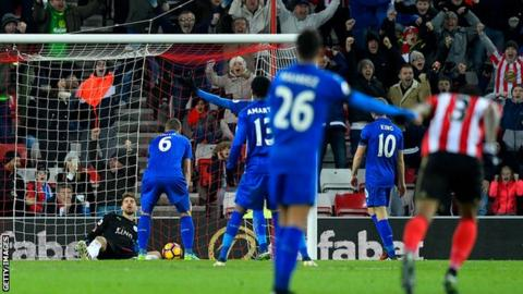Leicester have gone eight away games without a league win since beating Sunderland in April