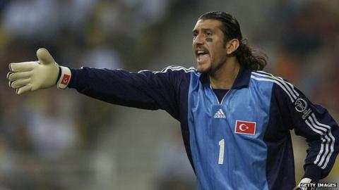 Rustu Recber was part of the Turkey side to reach the semi-finals of World Cup 2002