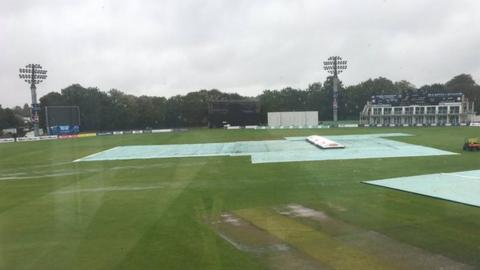 Canterbury wash out between Kent and Leicestershire