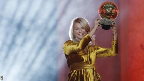 Image result for ada hegerberg ballon dor
