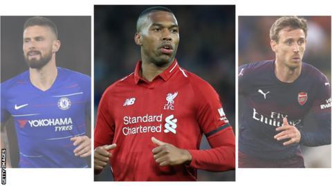 Giroud, Sturridge dan Monreal