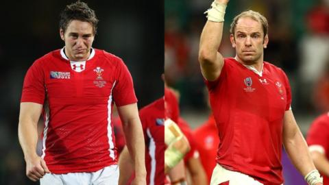 Ryan Jones (2011) and Alun Wyn Jones (2019)