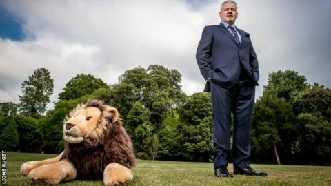 Gatland to lead Lions for third time in South Africa