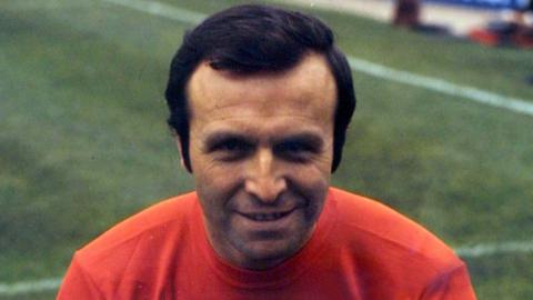 Blackpool and England legend Jimmy Armfield