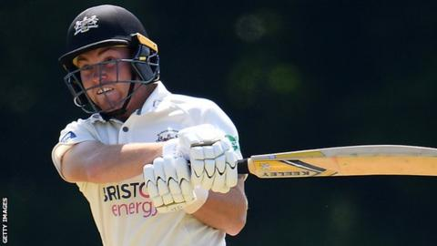 County Championship: Gloucestershire grateful to Higgins ...