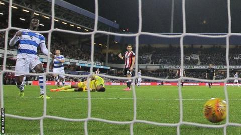 Idrissa Sylla put QPR into an early lead against Sheffield United