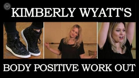 Kimberly Wyatt's Workout Week