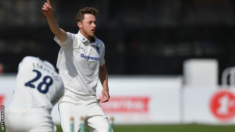 Sussex seam bowler Ollie Robinson