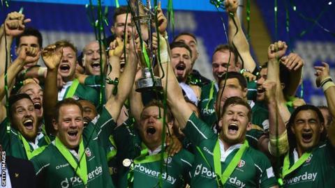 London Irish win Championship play-off