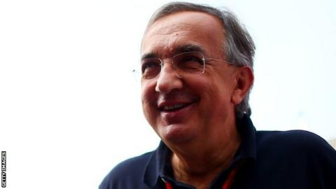 Ferrari and Fiat chief Sergio Marchionne