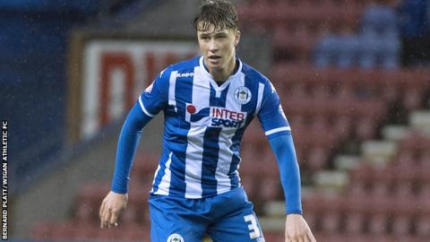 Wigan Athletic defender Jack Hendry