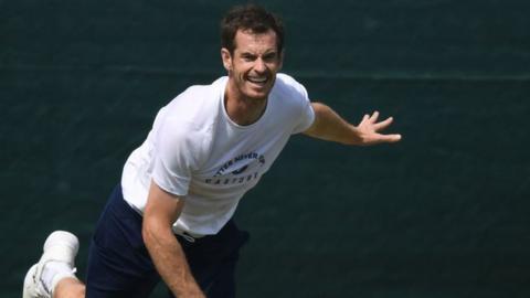 Andy Murray set for Wimbledon return