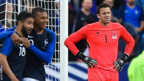 Colin Doyle against France