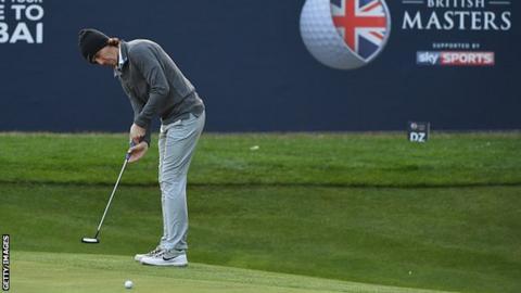 Golfer Tommy Fleetwood
