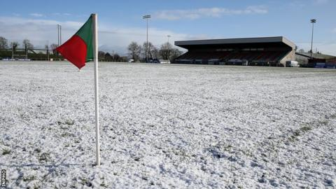 Monaghan's match against Kerry at Inniskeen was one of the four games to be postponed