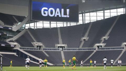 Norwich v Tottenham friendly