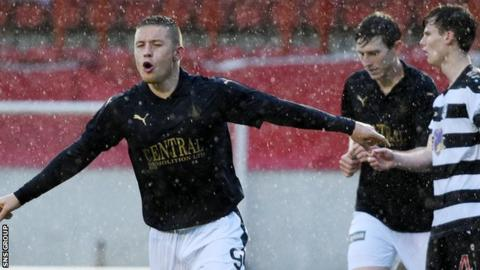 John Baird was on target for Falkirk in a comfortable victory
