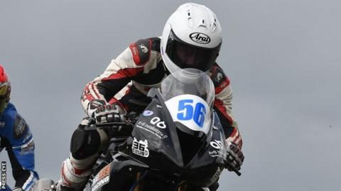 Adam McLean is the Irish 125cc/Moto3 road racing champion