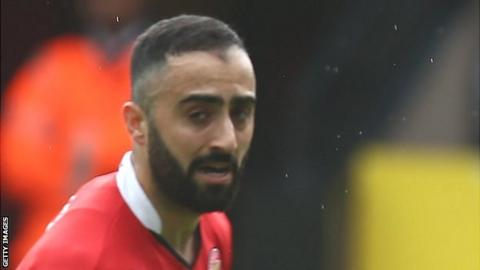 Erhun Oztumer has scored 17 goals in 50 appearances for Walsall this season